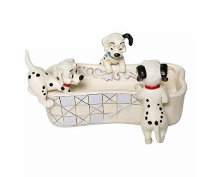 101 Dalmatiens avec Vide-Poches Disney Tradition Jim Shore
