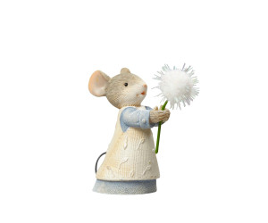 Dandelion Mouse with Heart