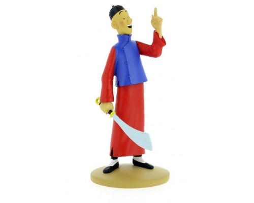 Didi est Fou - Figurine Tintin en résine