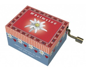 Edelweiss #248 Handcrank Music Box