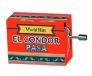 El Condor Pasa #252 Hand Crank Music Box