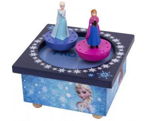 Elsa et Anna La Reine des Neiges Boîte à Musique Patinoire