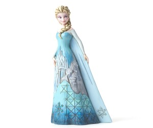 Elsa et sa Robe Château Heartwood Jim Shore Disney Tradition
