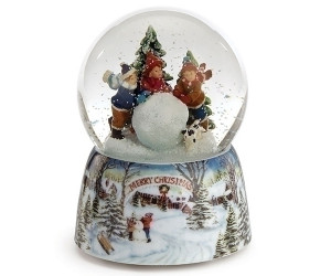 Childs and Snowball - Musical Waterglobe