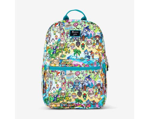 Fantasy Paradise Midi Backpack Sac JuJuBe x Tokidoki