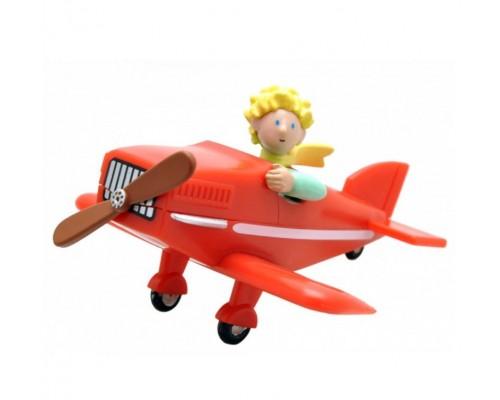 Figurine Le Petit Prince dans son Avion