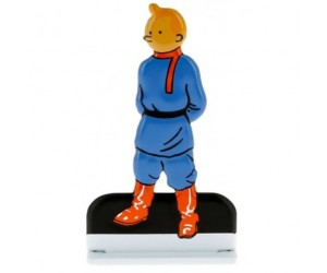 Tintin au Pays des Soviets Figurine de Tintin en Métal