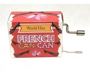 French Cancan #280 Handcrank Music Box
