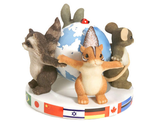 Friends Around The World Charming Tails