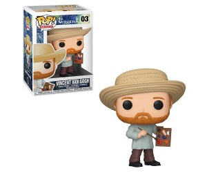 Vincent Van Gogh 03 Funko Pop