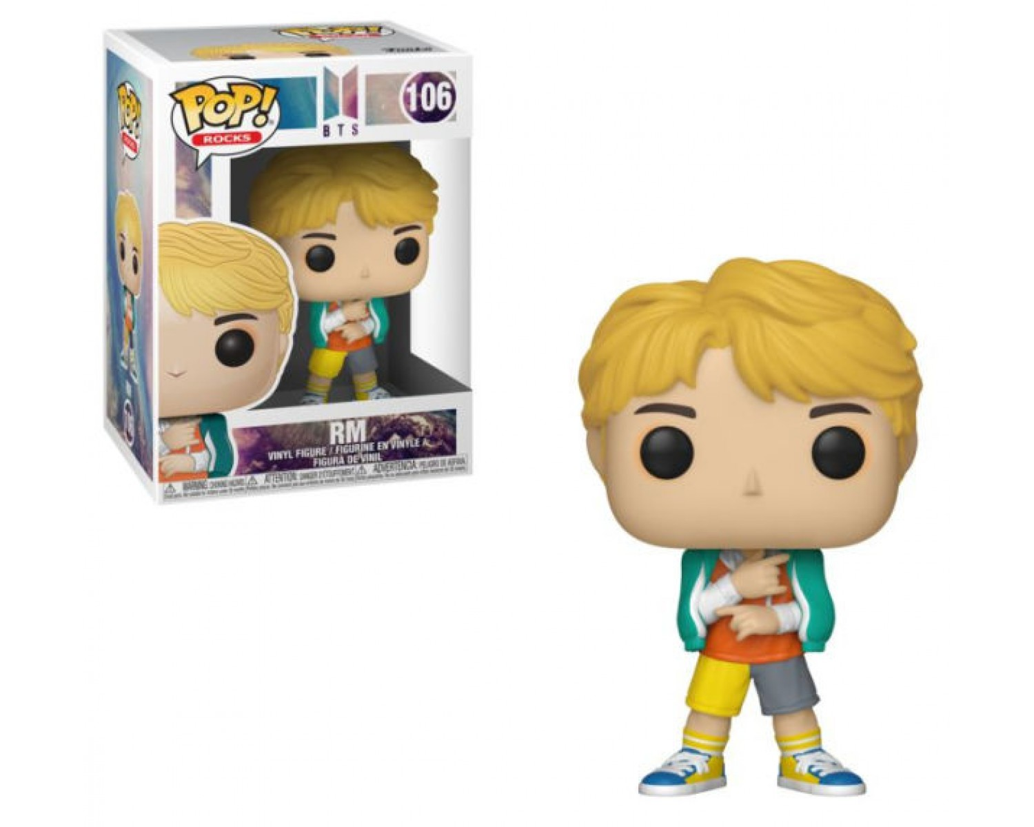 Funko Pop Rocks 102 BTS 37865 J-Hope