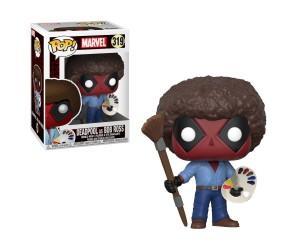Deadpool As Bob Ross 319 Funko Pop