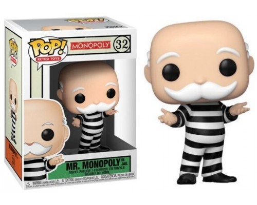 Mr. Monopoly in Jail 32 Funko Pop