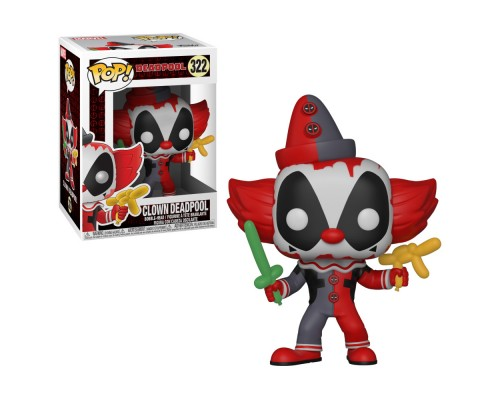 Deadpool Clown 322 Funko Pop