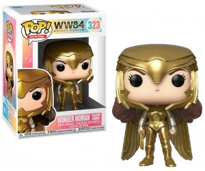 Wonder Woman (Gold Armor) 323 Funko Pop