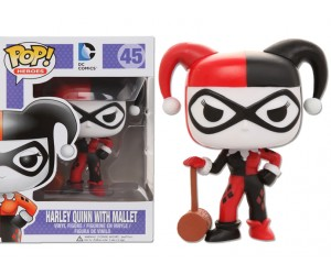 Harley Quinn with Mallet 45 - Funko Pop