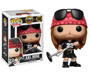 Axl Rose 50 Funko Pop
