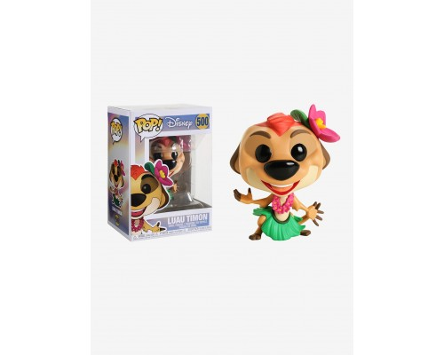 Luau Timon 500 Funko Pop