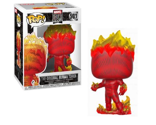 Human Torch 501 Funko Pop