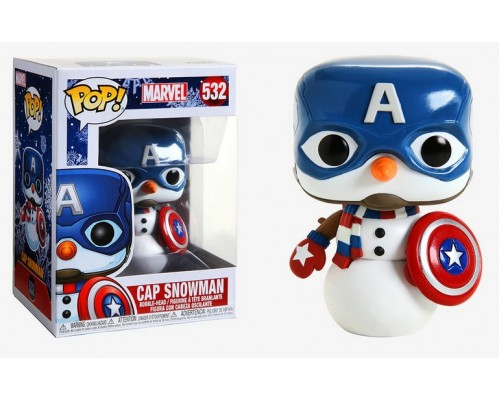 Cap Snowman 532 (Captain America) Funko Pop