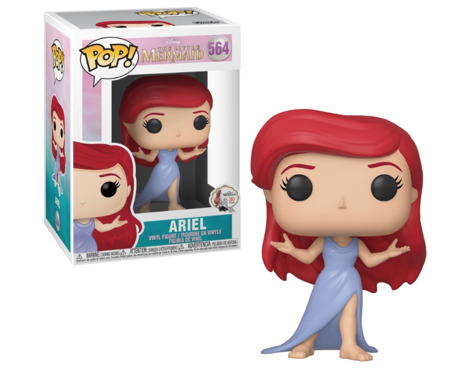 PRINCE ERIC 40106 VINYL FIGURE IN STOCK DISNEY LITTLE MERMAID FUNKO POP