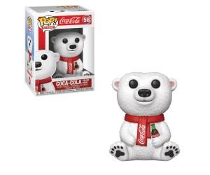 Coca-Cola Polar Bear 58 Funko Pop