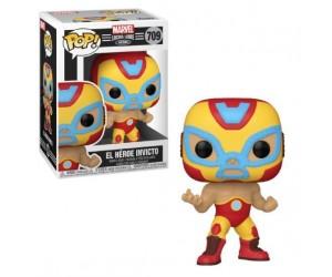 El Heroe Invicto 709 (Iron Man) Funko Pop