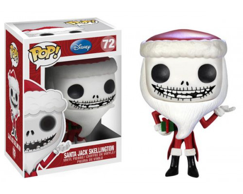 Santa Jack Skellington 72 Funko Pop