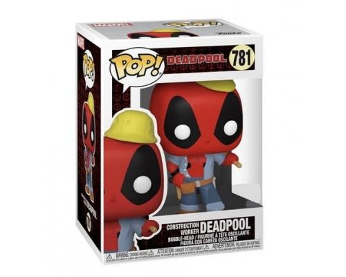 Construction Worker Deadpool 781 Funko Pop