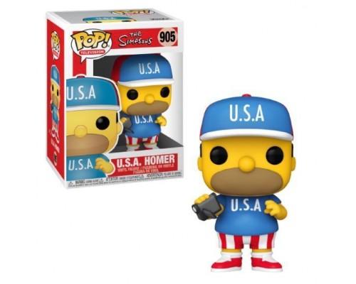 U.S.A. Homer 905 Funko Pop