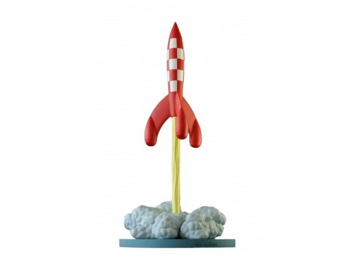 Fusée au Décollage - Figurine de Collection Tintin