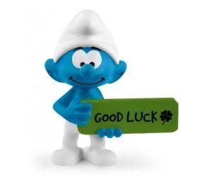 Good Luck Schtroumpf
