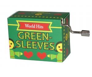 Green Sleeves #236 Handcrank Music Box