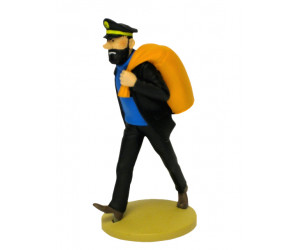 Captain Haddock with Backpack - Resin Figurine
