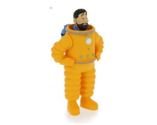 Capitaine Haddock Astronaute - Figurine Tintin