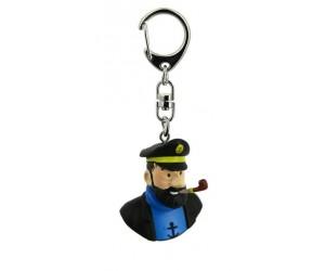 Porte-clé Buste du Capitaine Haddock