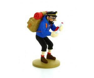 Haddock Bouteille Vide - Figurine en Résine - Tintin