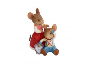 Jack and Jill Mice Tails With Heart