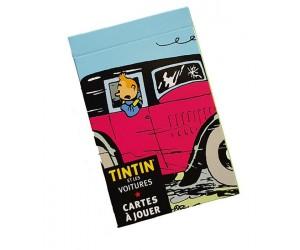 Jeu de Cartes Véhicules de Tintin