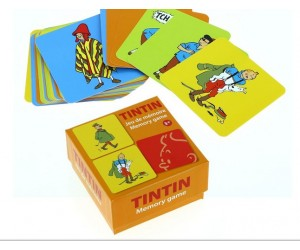 Jeu de Mémoire Costume - Tintin
