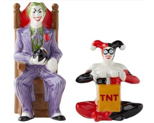 The Joker et Harley Quinn Salière et Poivrière