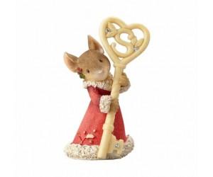 Clé du Royaume du Père Noël Souris Tails With Heart