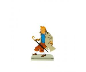 L'Affaire Tournesol Figurine de Tintin en Métal