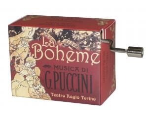 Che Gelida Manina #244 La Bohème Puccini Handcrank Music Box