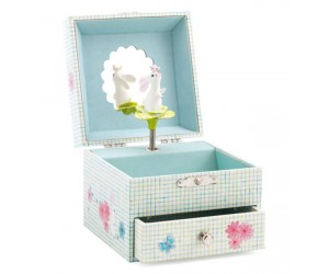Sweet Rabbit's Song Musical Jewelry Box