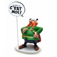 Statuette Abraracourcix Bulle Le Chef Ici, C'est Moi !