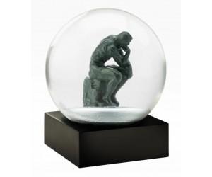 Le Penseur de Rodin Boule à Neige CoolSnowGlobes