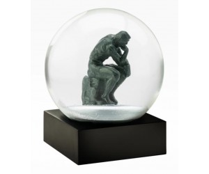 The Thinker Rodin Snow Globe CoolSnowGlobes
