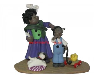 Family Ties  - Little Street Figurine