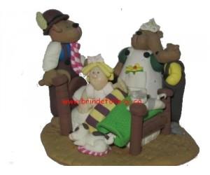 Goldilock et Les 3 Ours - Figurine Little Street